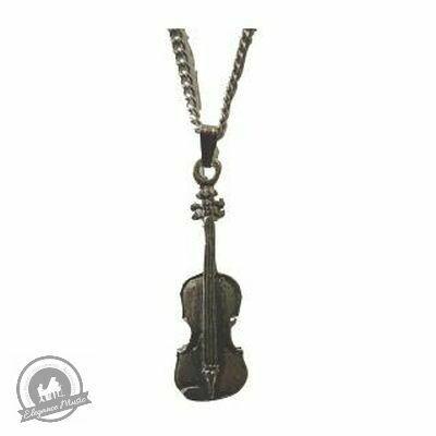 Pewter Pendant - Violin