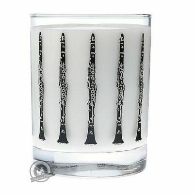 Clear Glass Tumbler: Clarinet
