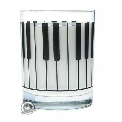 Clear Glass Tumbler: Keyboard