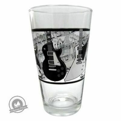 Glass Tumbler - Electric Guitars/Music