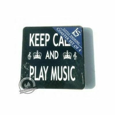 Keep Calm and Play Music Coasters - Pack Of Four