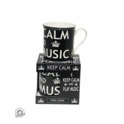 Mug - Keep Calm and Play Music - Black