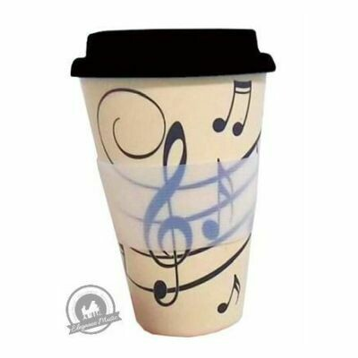 Music Notes - Travel Mug: Gifts