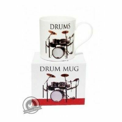 Music Word Mug - Drums
