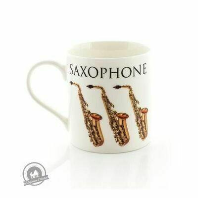 Music Word Mug - Saxophone
