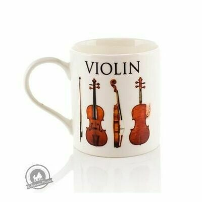 Music Word Mug - Violin