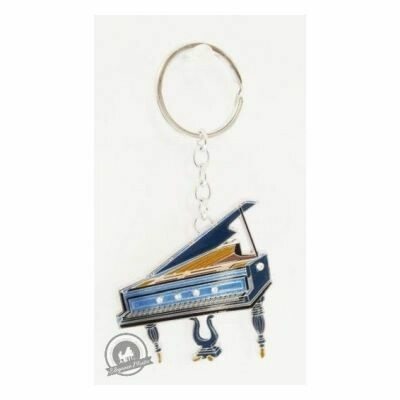 Little Snoring Keyring: Grand Piano