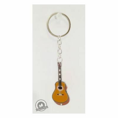 Little Snoring Keyring: Guitar