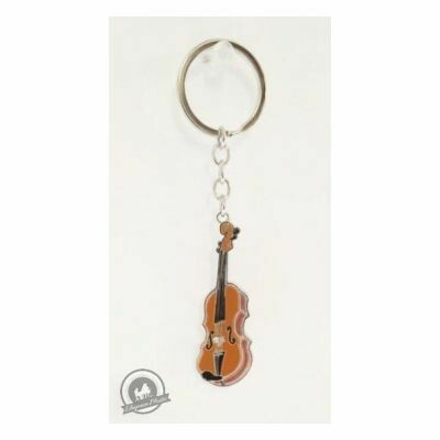 Little Snoring Keyring: Violin