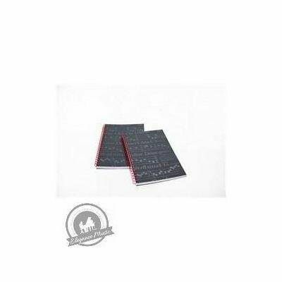St Cecilia A5 Notebook - Black Finish