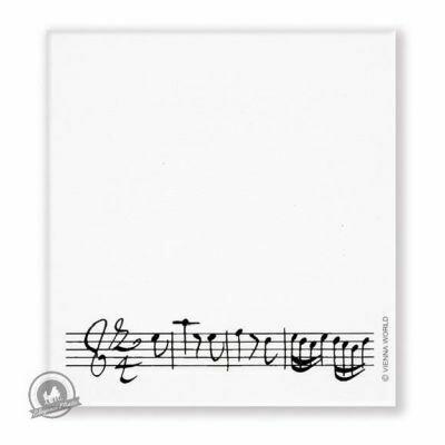 Sticky notepad Line of notes