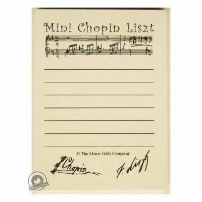 Sticky Pad Chopin Liszt
