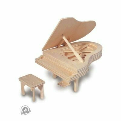 Quay Woodcraft Construction Kit Piano