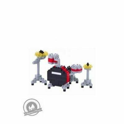 Nanoblock Drum Set Red
