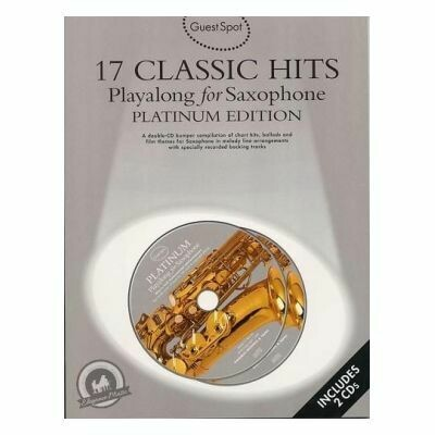 Guest Spot - 17 Classic Hits Playalong for Alto Saxophone