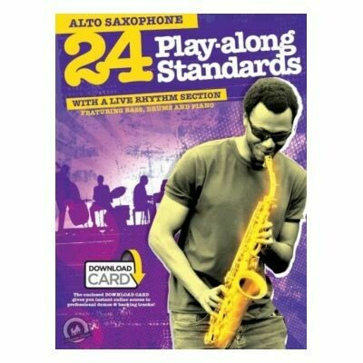 24 Playalong Standards for Alto Saxophone (with Online Audio)