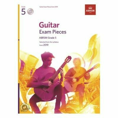 ABRSM Guitar Exam Pieces From 2019 - Grade 5 (Book with CD)