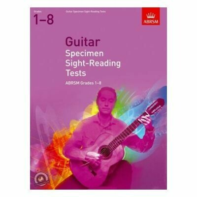 ABRSM Guitar Specimen Sight-Reading Tests, Grades 1-8