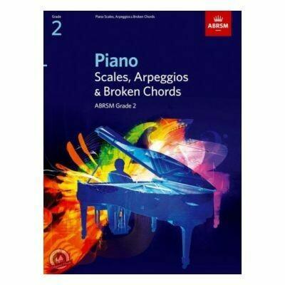 ABRSM Piano Scales, Arpeggios & Broken Chords, Grade 2