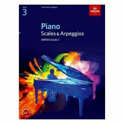 ABRSM Piano Scales & Arpeggios, Grade 3