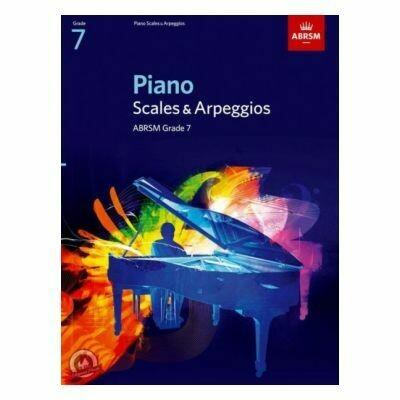 ABRSM Piano Scales & Arpeggios, Grade 7