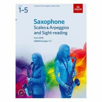 ABRSM Saxophone Scales and Arpeggios (Grades 1-5 From 2018)