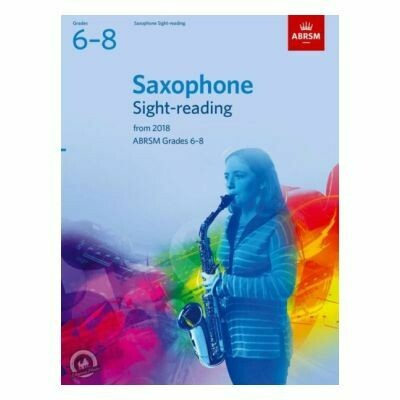 ABRSM Saxophone Sight-Reading Tests Grades 6-8 From 2018