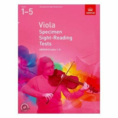 ABRSM Viola Specimen Sight-Reading Tests Grades 1-5 (from 2012)