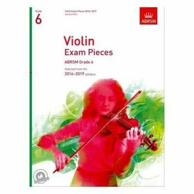 ABRSM Violin Exam Pieces 2016-2019 Grade 6 (Book with Part)