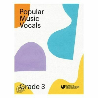 LCM Popular Music Vocals - Grade 3