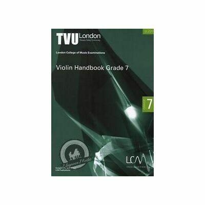 LCM Violin Handbook Grade 7 2011