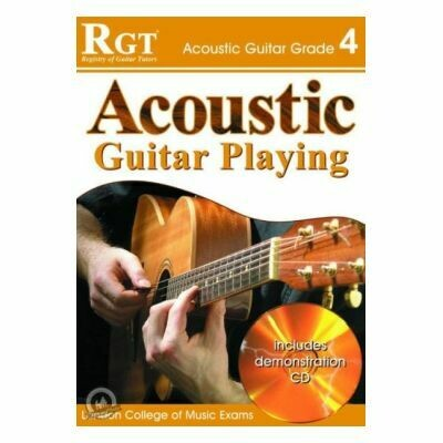 RGT Acoustic Guitar Playing Grade 4