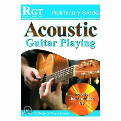 RGT Acoustic Guitar Playing Prelimary Grade