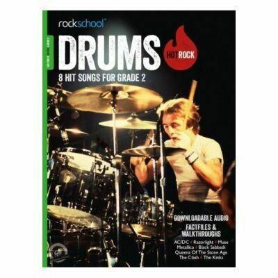 Rockschool Hot Rock Drums - Grade 2