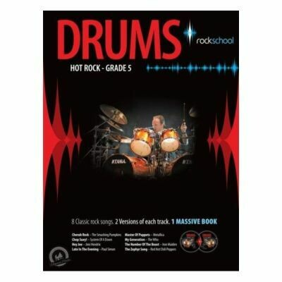 Rockschool Hot Rock Drums - Grade 5