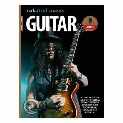 Rockschool Classics: Guitar Grade 5 2018+ (Book/Audio)