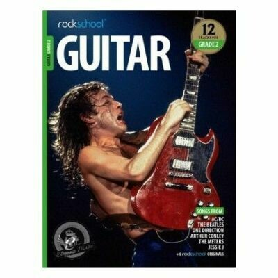 Rockschool: Guitar Grade 2 2018+ (Book/Audio)