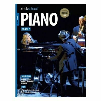 Rockschool Piano - Grade 6 2015-2019
