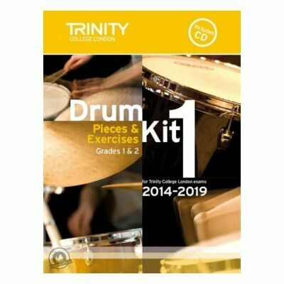 Trinity Drum Kit 2014-2019 Book 1 + CD