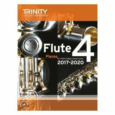 Trinity Flute Exam Pieces Grade 4, 2017-2020 (Score & Part)