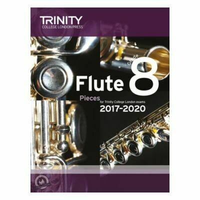 Trinity Flute Exam Pieces Grade 8, 2017-2020 (Score & Part)