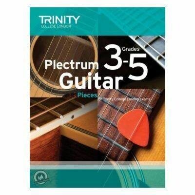 Trinity Plectrum Guitar Pieces Grades 3-5