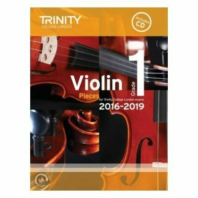 Trinity Violin 2016-2019. Grade 1 (Book with CD)