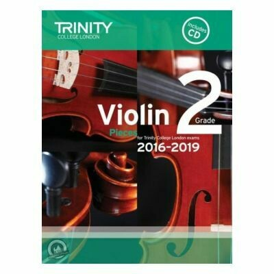 Trinity Violin 2016-2019. Grade 2 (Book with CD)
