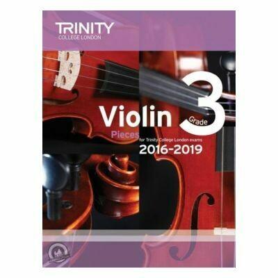 Trinity Violin 2016-2019. Grade 3 (Book with Part)