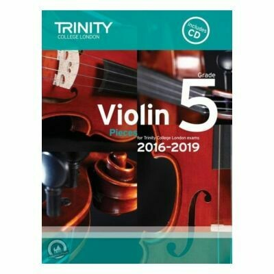 Trinity Violin 2016-2019. Grade 5 (Book with CD)