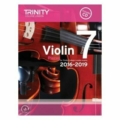 Trinity Violin 2016-2019. Grade 7 (Book with CD)