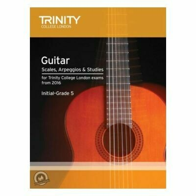 Trinity Guitar and Plectrum Guitar Scales, Arpeggios Initial-Grade 5