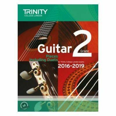 Trinity Guitar Exam Pieces Grade 2 2016-2019