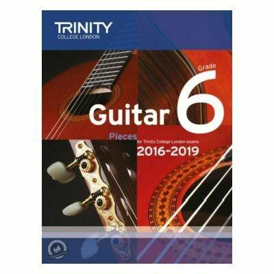 Trinity Guitar Exam Pieces Grade 6 2016-2019